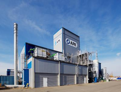 Fortschrittliches Werk der APK AG in Merseburg