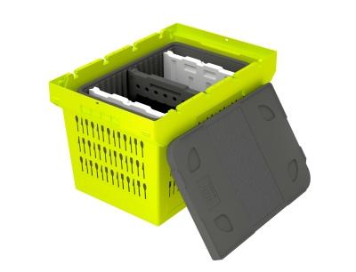 Der MB Food & Delivery ergänzt die Mehrwegbehälter-Serie MB von Bito