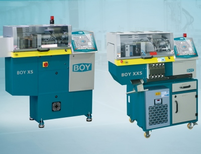 Boy XS und Boy XXS bieten 50 Prozent mehr Plastifiziervolumen