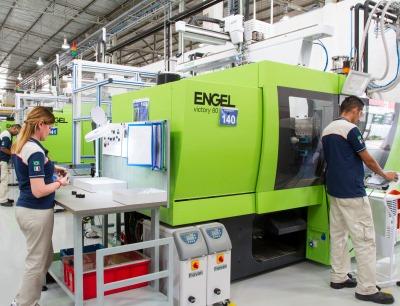 MTA setzt holmlose Engel Spritzgießmaschinen in seinen weltweiten Werken ein. Unter anderem in Brasilien