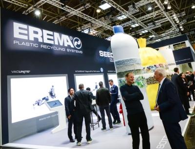 Rundum positiv fällt die Bilanz der Erema Gruppe über die weltgrößte Kunststoffmesse K 2019 aus