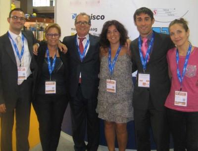 Das Team von Mircan, dem neuen Partner von Ettlinger für den Vertrieb von Hochleistungsschmelzefiltern auf der Iberischen Halbinsel