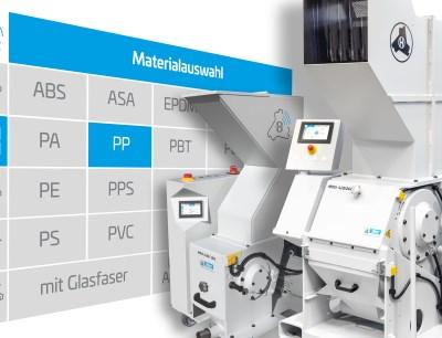 2019 auf der K erstmals vorgestellt, ist die digitale Smart-Control-Steuerung jetzt für das gesamte Portfolio der Schneidmühlen von Hellweg verfügbar