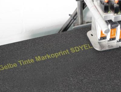 Zentrale Tintenversorgung auch für Solventtinten geeignet