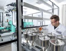 Anwendungstechnisches Labor in Krefeld-Uerdingen von Lanxess
