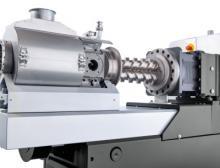 Der schonende und dennoch stringente Druckaufbau in der zweiwelligen, konischen Austragseinheit trägt maßgeblich zur hohen Prozesskonstanz und gleichmäßigen Produktqualität bei