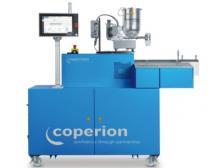 Der Doppelschneckenextruder ZSK von Coperion eignet sich aufgrund seiner intensiven Dispergier- und Entgasungsleistung in besonderem Maße für das energieeffiziente chemische Recycling von gemischten Kunststoffabfällen