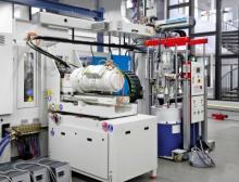 Blick in die Produktion bei Tepe: Die CXL 160 Silcoset von Krauss-Maffei