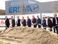 Spatenstich Erweiterung Erema-Gruppe