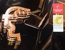 2020 wird der Hermes Award im Rahmen der ersten Hannover Messe Digital Days im Juli verliehen
