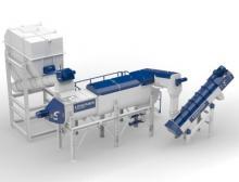 Das neue Lindner Washtech Hot-Wash-System reinigt effektiv in drei Stufen und garantiert dabei kontinuierlichen Output