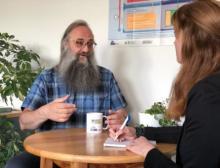 Michael Carus im Gespräch mit Svenja Geerken