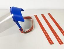 Trelleborg Sealing Solutions liefert an Boeing verstellbare Kopfbänder für ein Gesichtvisier, das medizinisches Personal bei ihrer Arbeit schützen soll